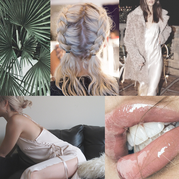 Slip Dress Mood Board