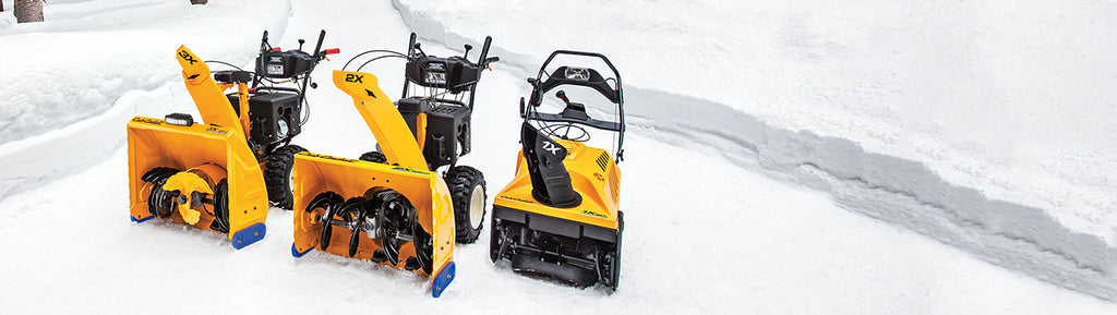 HOW TO PREPARE YOUR SNOW THROWER FOR WINTER USE