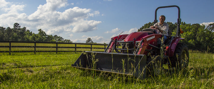 This weeks Yanmar tractor tip: WHO MOWS BEST?