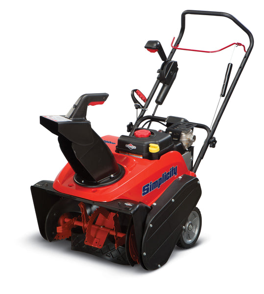 Simplicity 922exd Single Stage Snow Blower Model 1696516