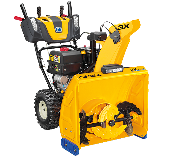 Cub Cadet 3X 26HD Three-Stage Snow Thrower | Mowtown Waldo ...