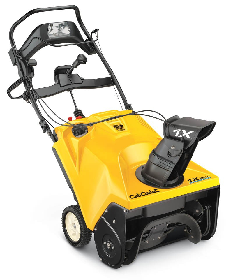 Cub Cadet 1X 221 LHP Single-Stage Snow Thrower