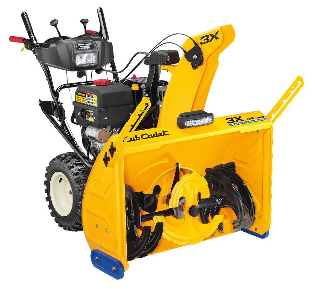 Cub Cadet 3X 34 PRO Three-Stage Snow Thrower