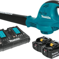 Makita XBU01PT 18V X2 LXT Lithium-Ion Cordless Blower Kit
