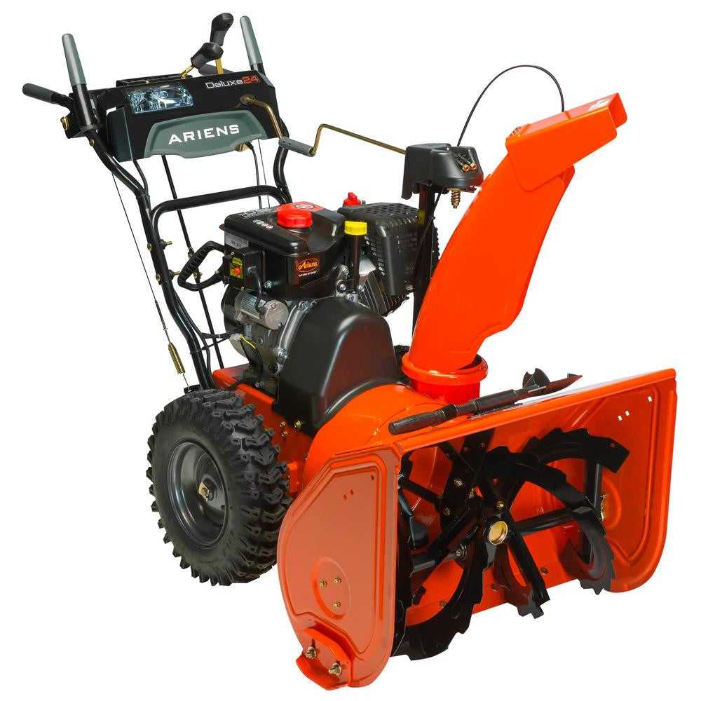 "Ariens Deluxe 24 (24"") 254 cc Two‑Stage Snow Blower"