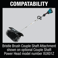 Makita Couple Shaft BR400MP Bristle Brush Attachment