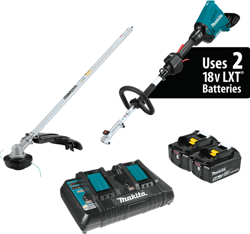 Makita Couple Shaft Cordless Power Head Kit W/ String Trimmer Attachment