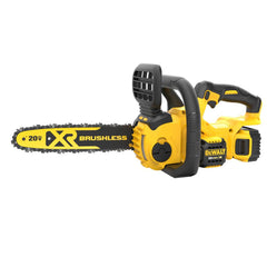 DEWALT 20-Volt MAX Lithium-Ion Cordless 12 in. Brushless Chainsaw w/ (1) 5.0Ah Battery and Charger