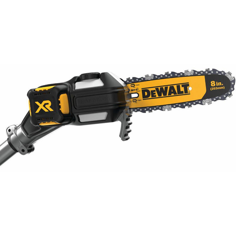 DEWALT 8 in. 20-Volt MAX Electric Cordless Pole Saw Kit with 5.0Ah Battery and Charger
