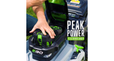 "EGO POWER+ 21"" SELF-PROPELLED MOWER WITH PEAK POWER™"