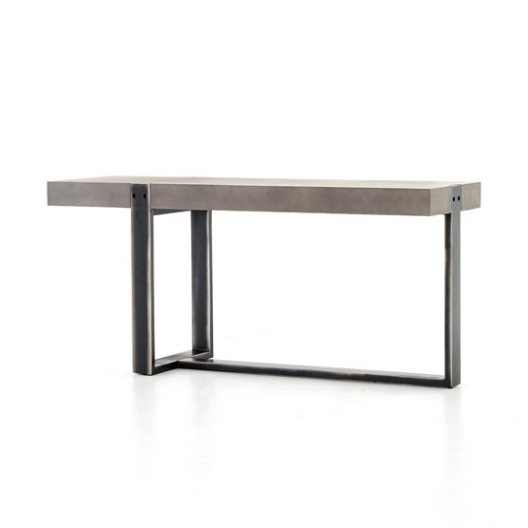 Slab Concrete Console Table