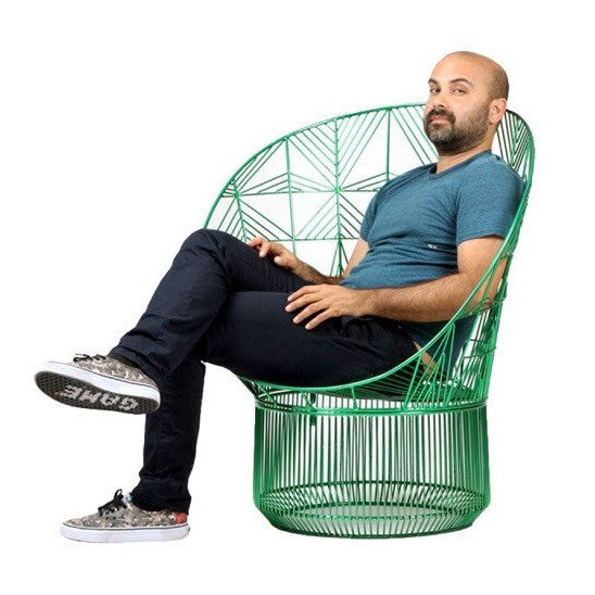 Peacock Emerald Green Lounge Chair