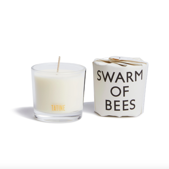 Tatine Votive Candle, Swarm of Bees