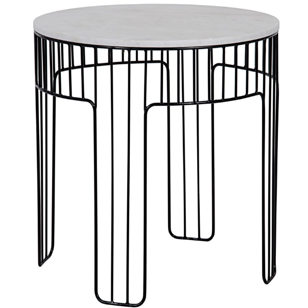 Grille Side Table
