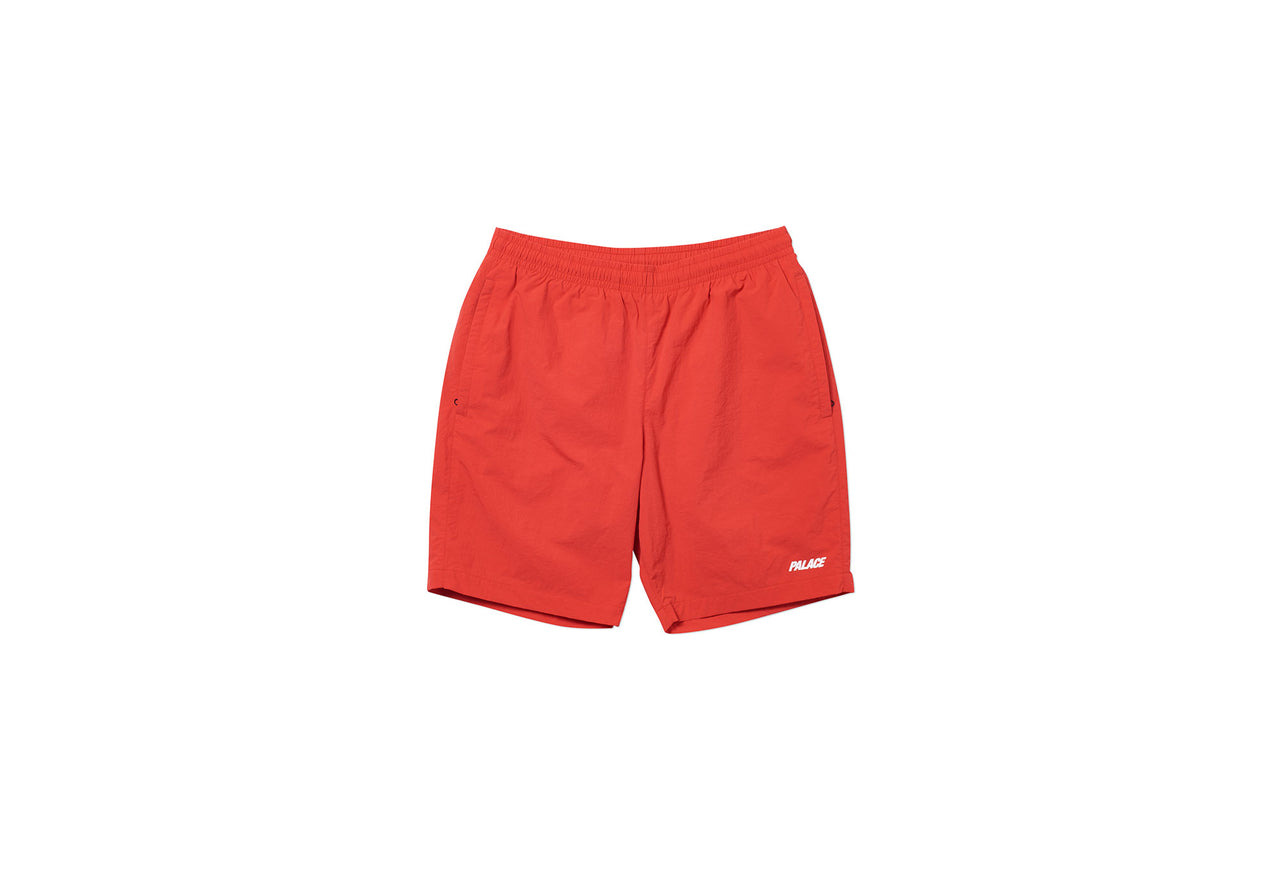 SHELL SHORTS RED