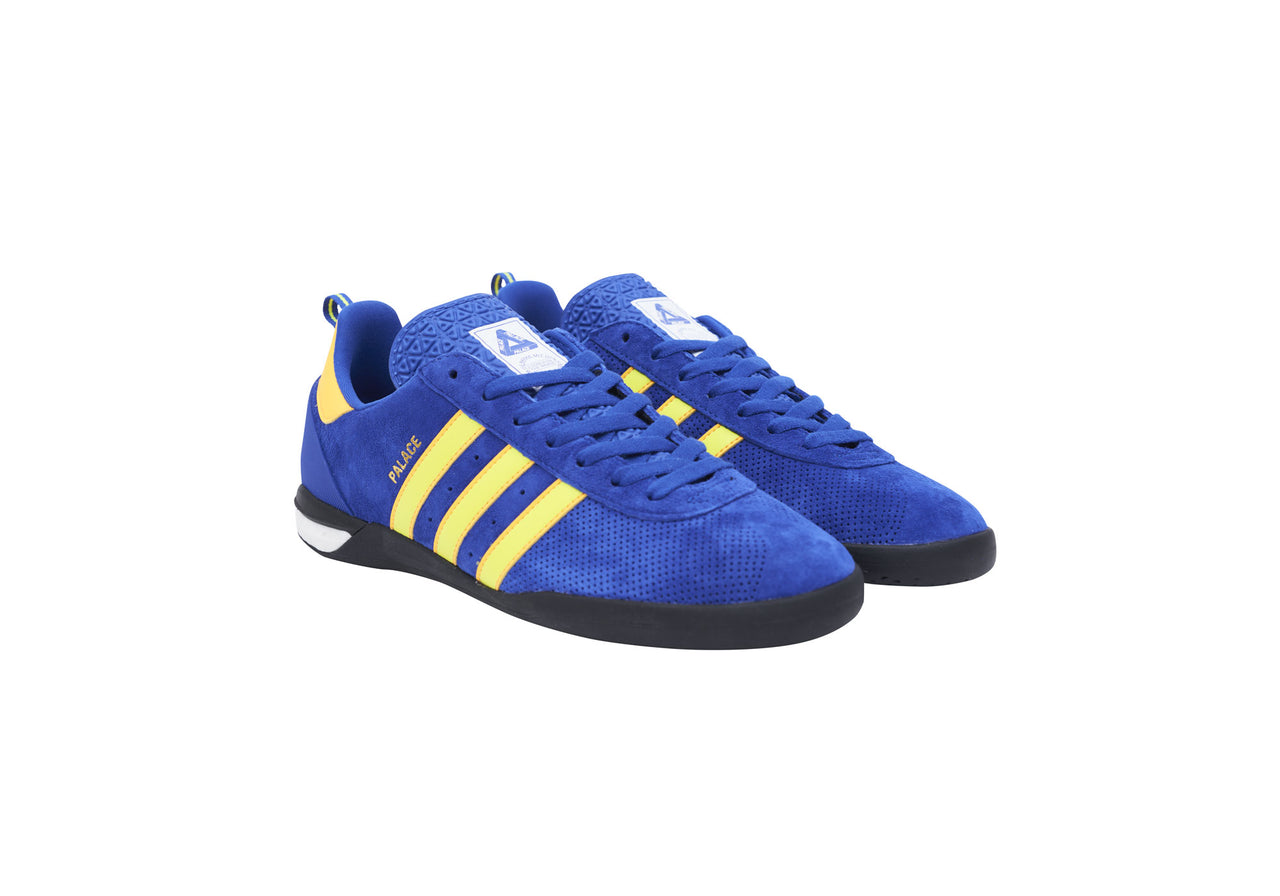ADIDAS PALACE INDOOR BOLD BLUE / SOLAR YELLOW / SOLAR GOLD