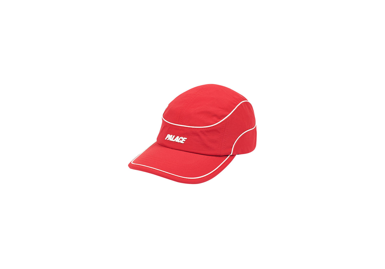 SIDEPIPE SHELL RUNNING HAT RED