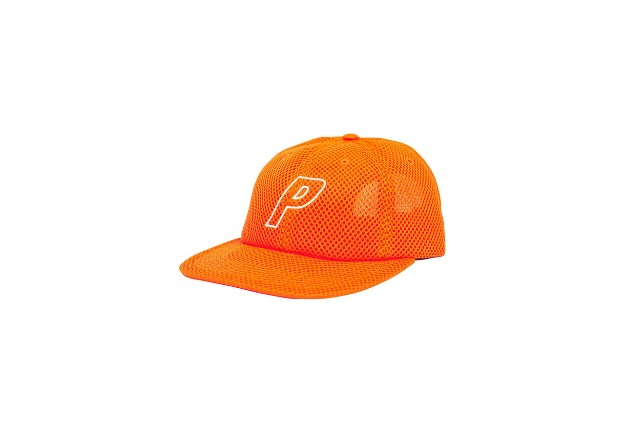 PAL HAT FLAME ORANGE SPACE MESH