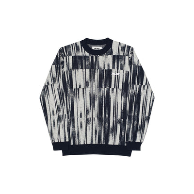 GRADIENT KNIT BLACK