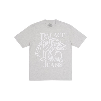 P JEANS T-SHIRT GREY MARL