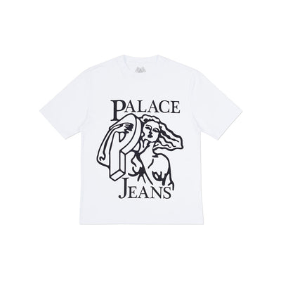 P JEANS T-SHIRT WHITE