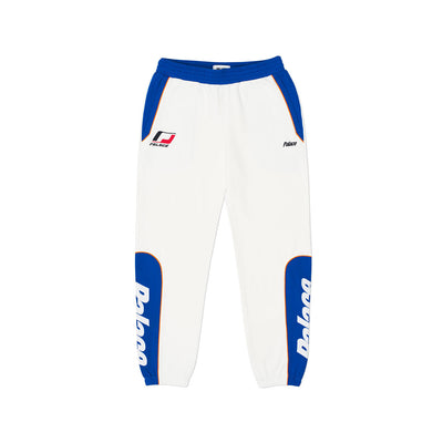YAMAN TRACK BOTTOM WHITE / BLUE