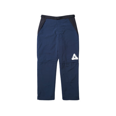 ZIP OFF SHELL PANT NAVY / BLACK