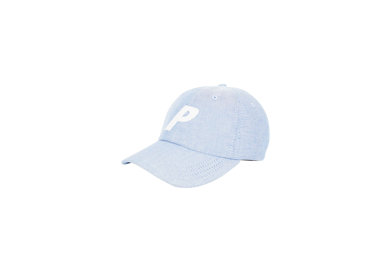 P 6-PANEL OXFORD BLUE