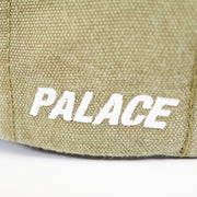 P 6-PANEL OLIVE WASHED CANVAS