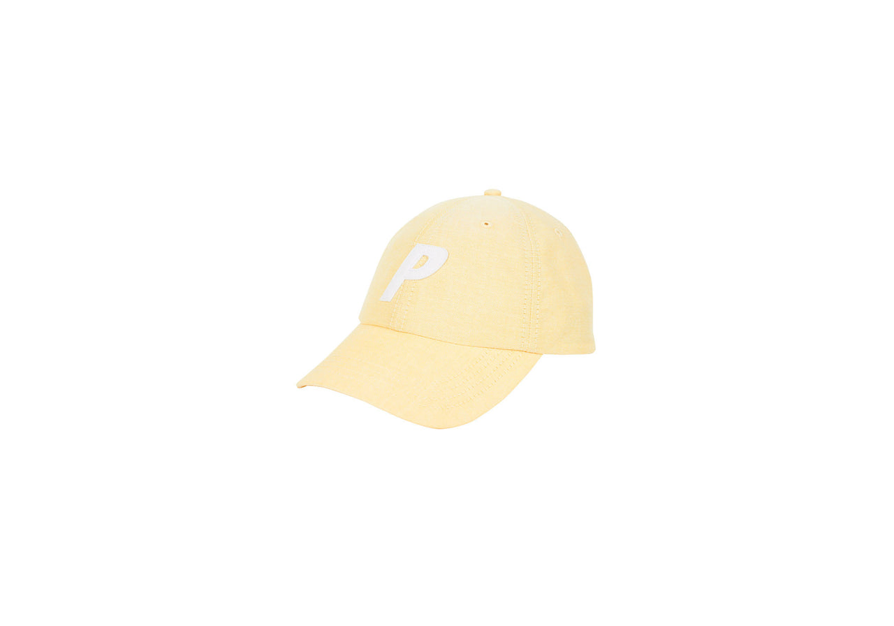 P 6-PANEL OXFORD YELLOW