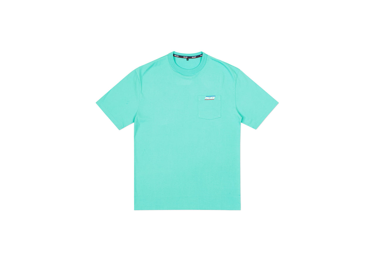 BASICALLY A POCKET T-SHIRT LIGHT GREEN