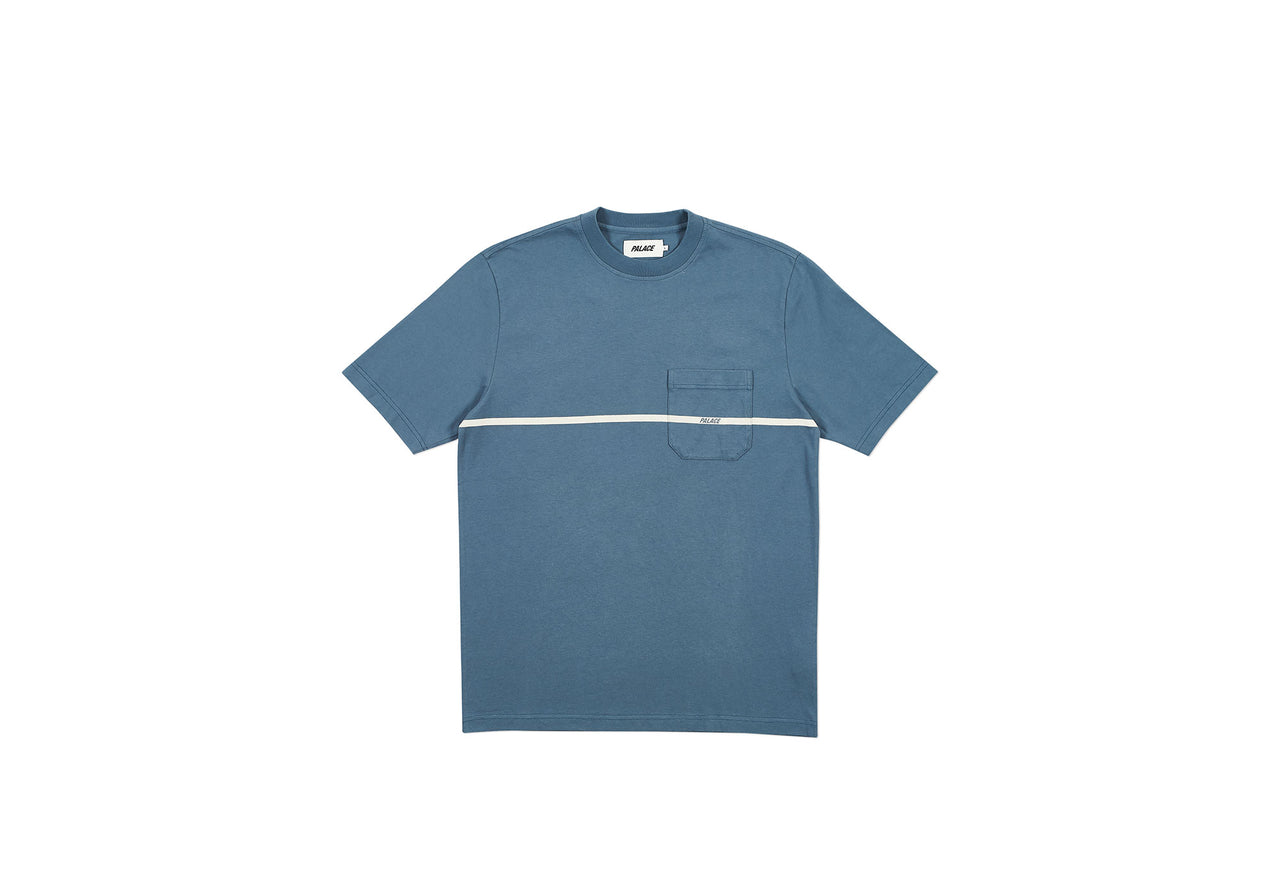 P-LINE POCKET T-SHIRT NAVY