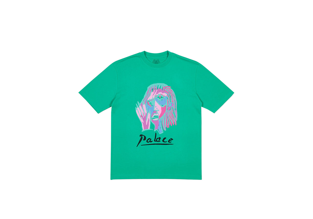 SIGNATURE T-SHIRT POOL GREEN