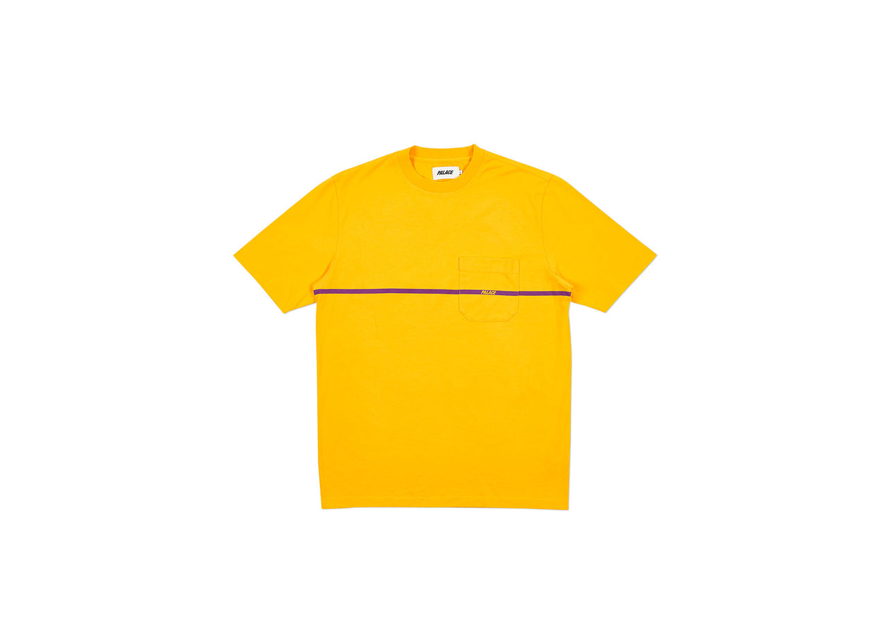 P-LINE POCKET T-SHIRT YELLOW