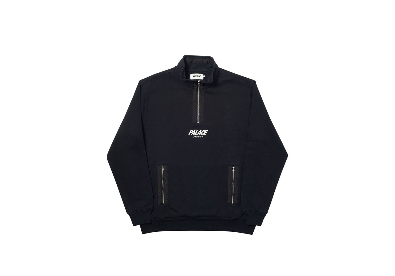 S-FUNNEL SWEAT BLACK