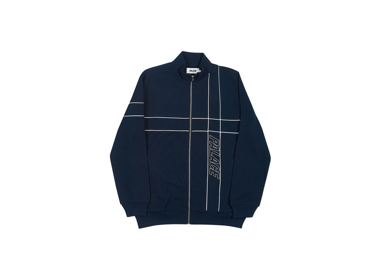 PIPER TRACK TOP NAVY