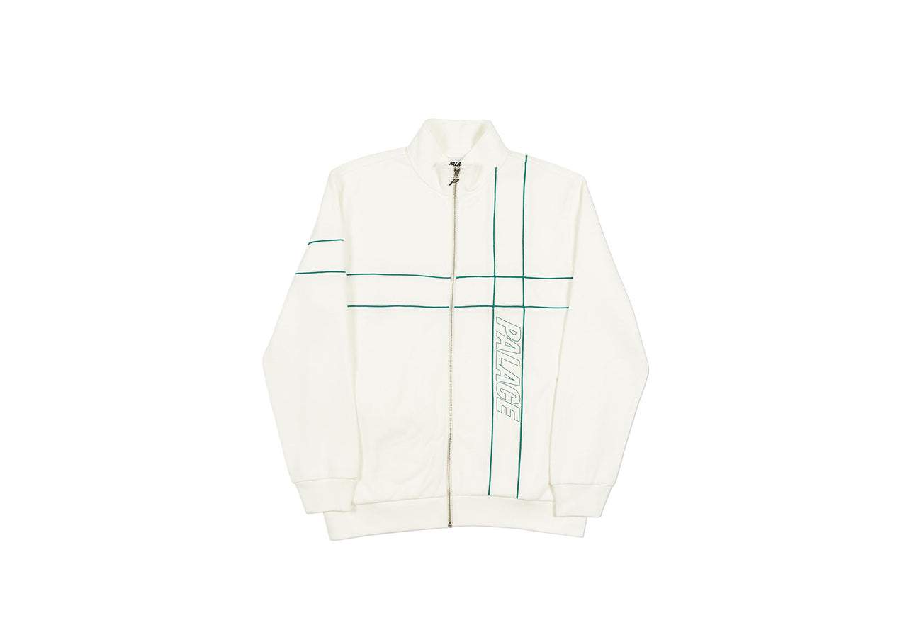 PIPER TRACK TOP WHITE