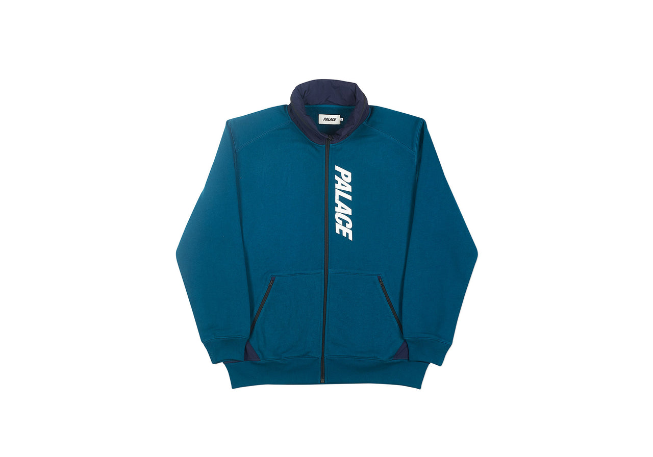 TECHNO ZIP SWEAT TEAL