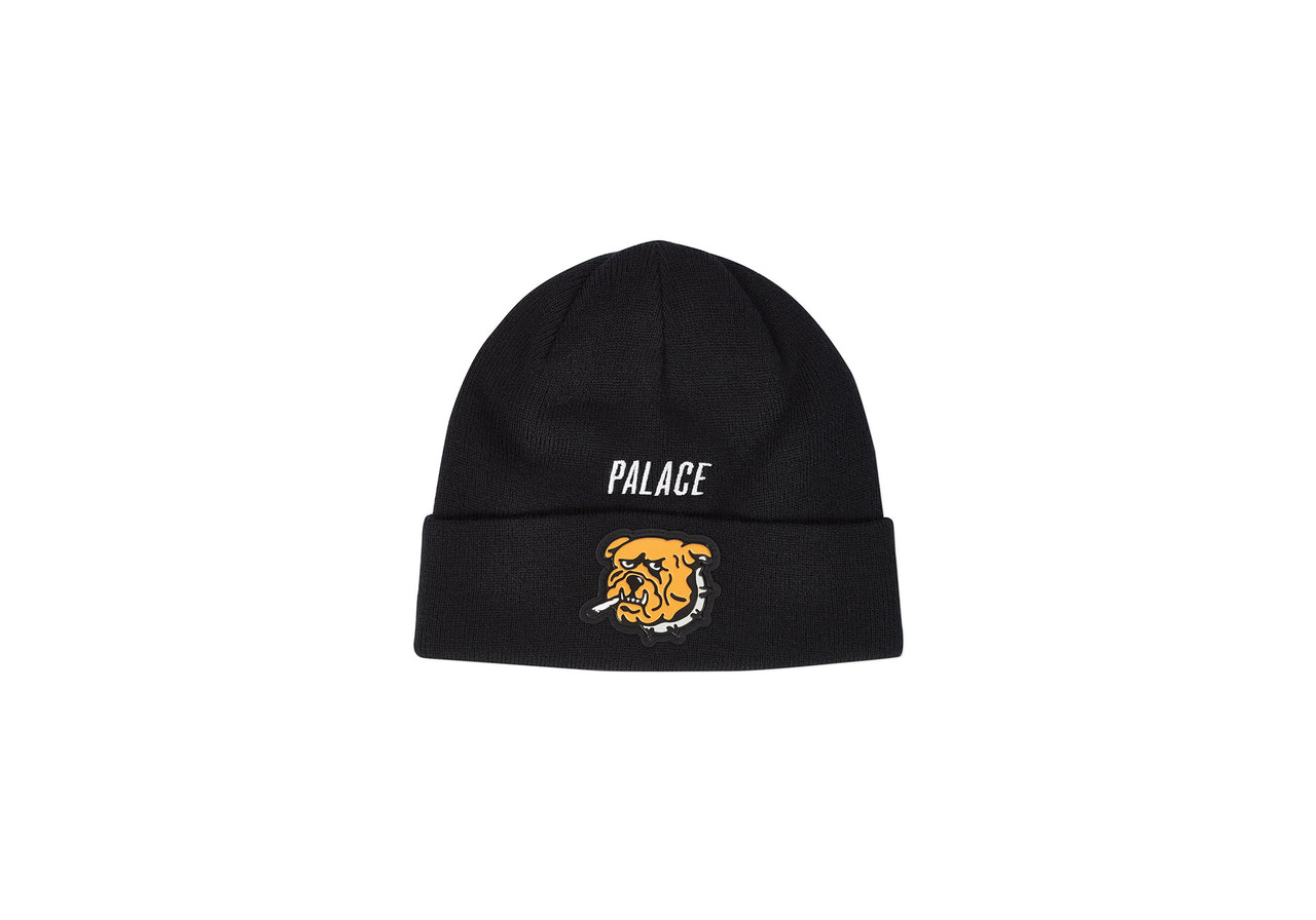 ZOOTED BEANIE BLACK