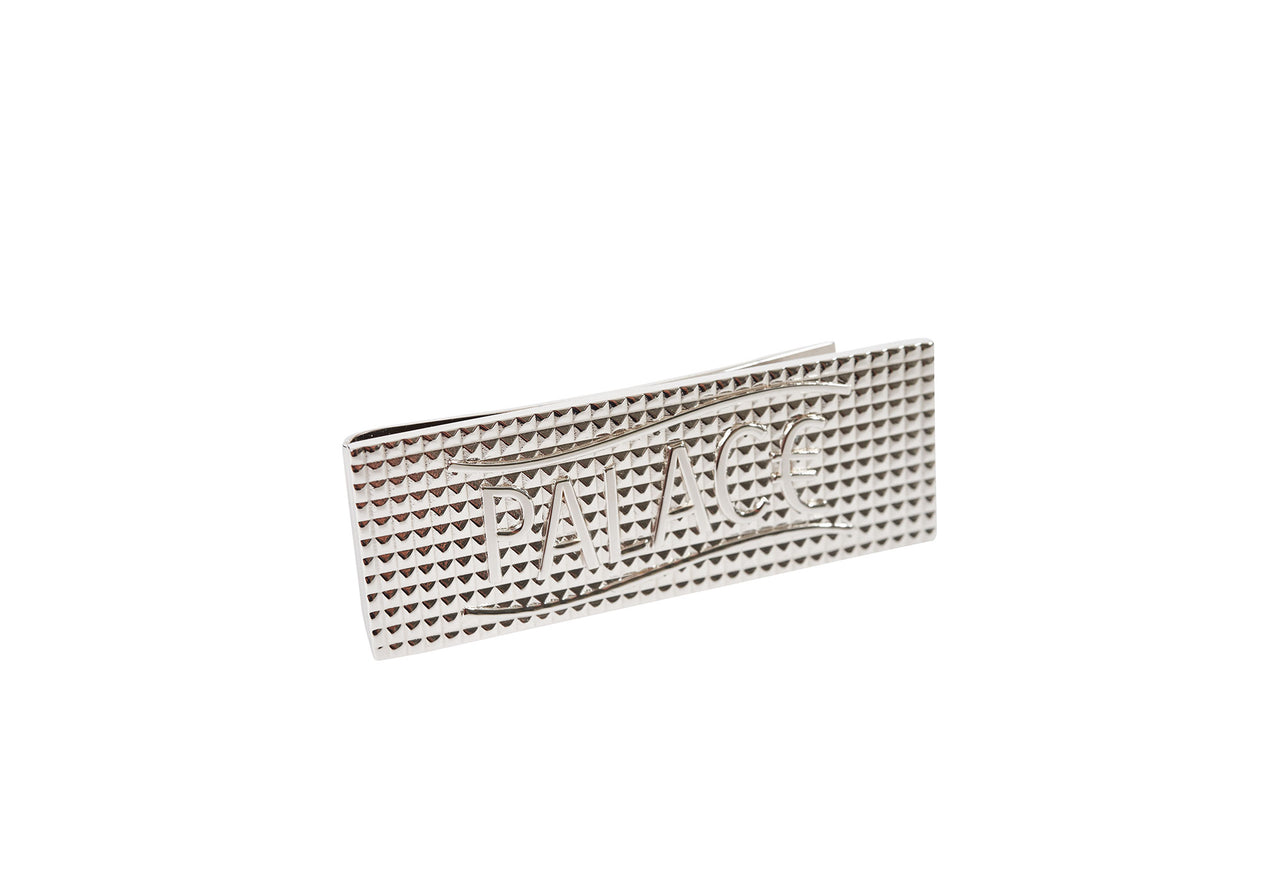 EURO MONEY CLIP SILVER