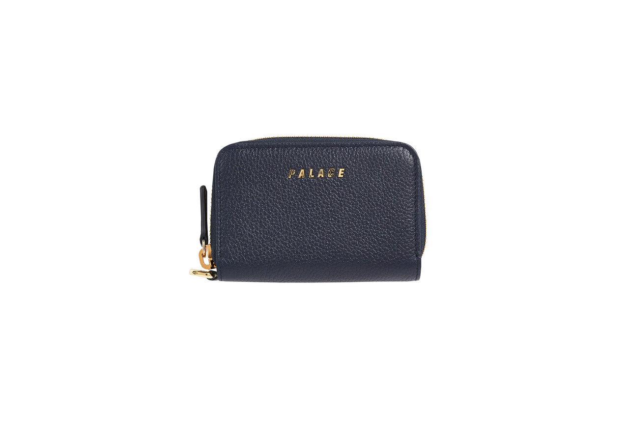 LEATHER WALLET NAVY