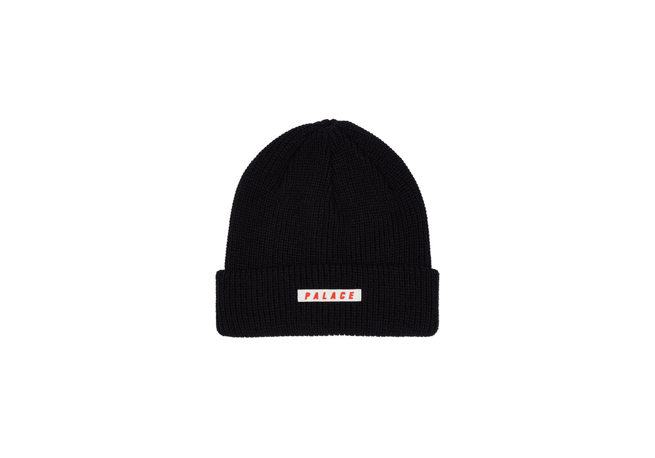 SPACED BEANIE BLACK