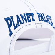 AROUND THE WORLD 6-PANEL WHITE