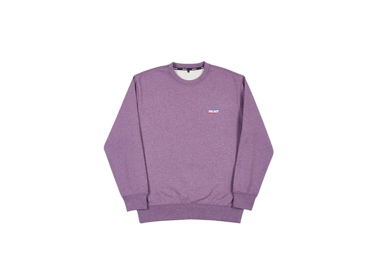 BASICALLY A CREW PURPLE MARL