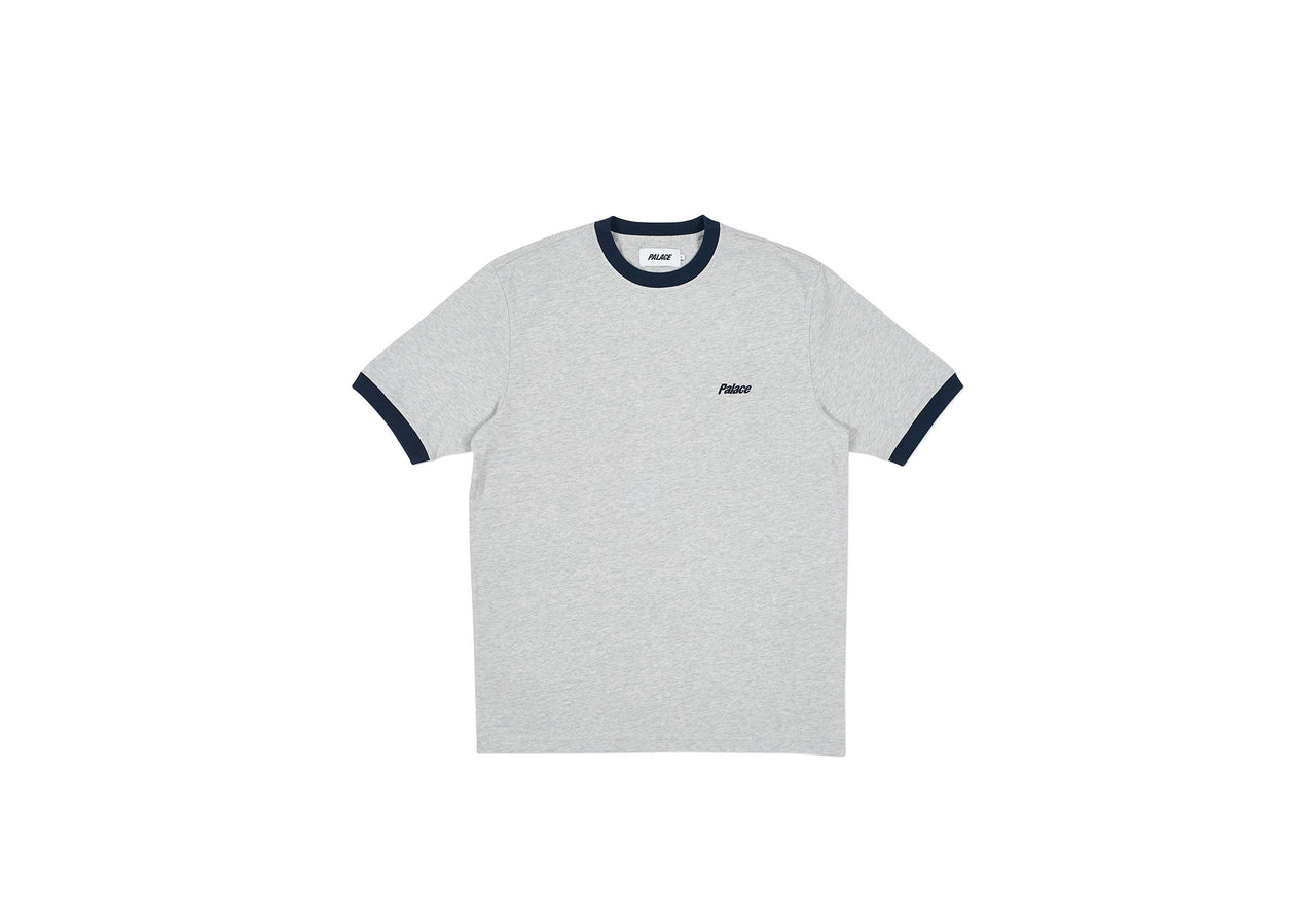 HEAVY RINGER T-SHIRT GREY MARL