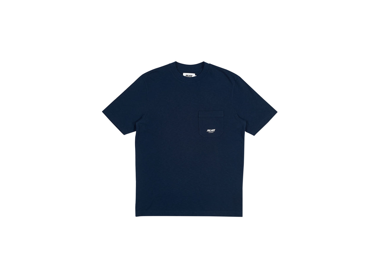 SLUB POCKET T-SHIRT NAVY