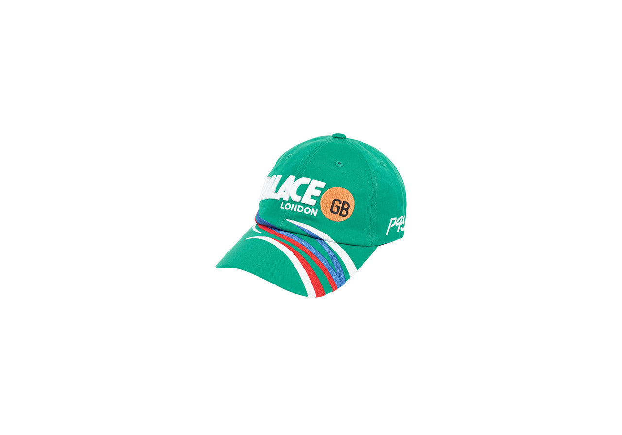 BOI RACER 6-PANEL GREEN