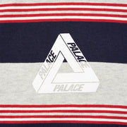 RIBBED FOR PLEASURE CREW MARL / RED / NAVY