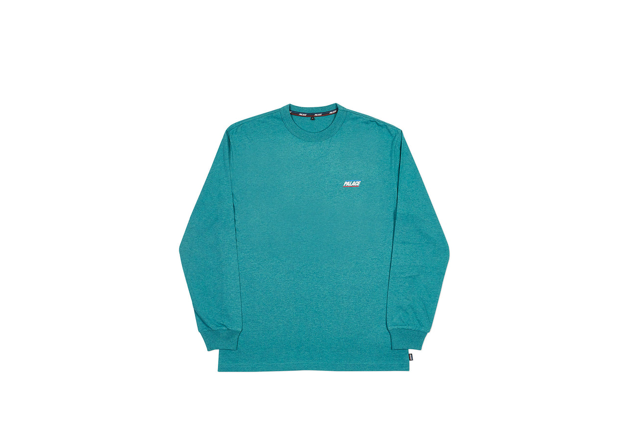 BASICALLY A LONGSLEEVE FOREST GREEN MARL