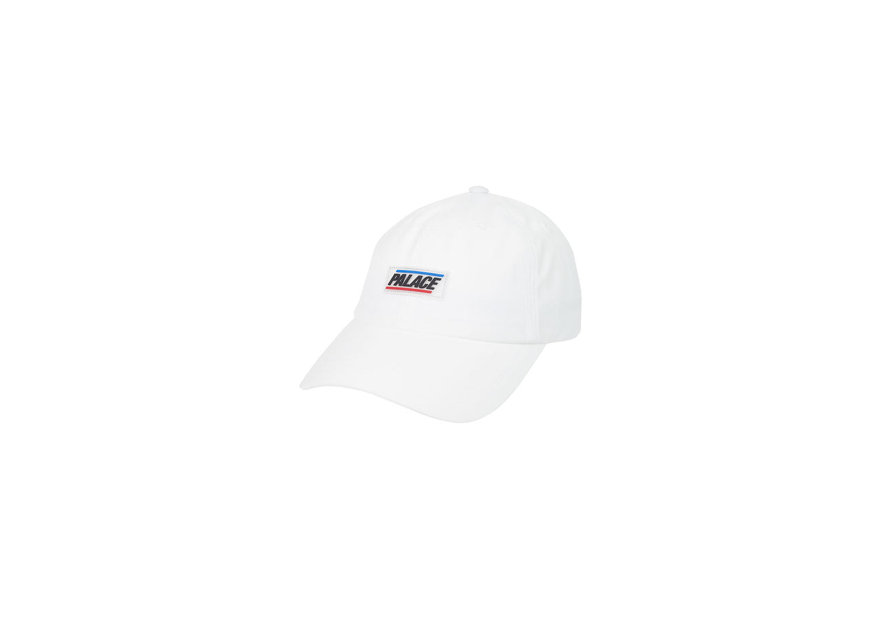 BASICALLY A SPORTS SHELL 6-PANEL WHITE
